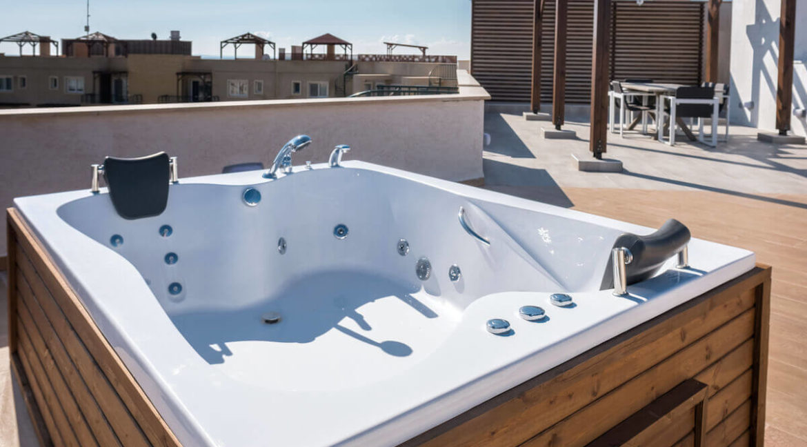 Bafra Beachfront Penthouse 3 Bed - North Cyprus Property N5