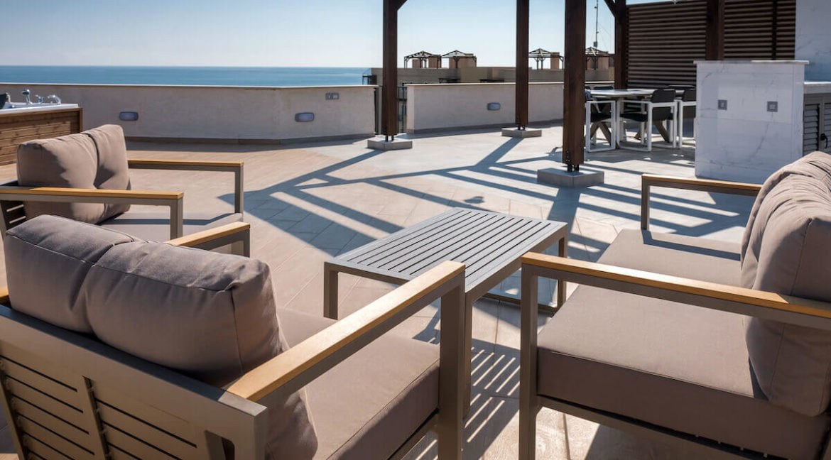 Bafra Beachfront Penthouse 3 Bed - North Cyprus Property N7