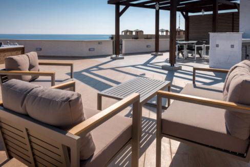 Bafra Frontline Platinum Penthouse 3 Bed - North Cyprus Property A7