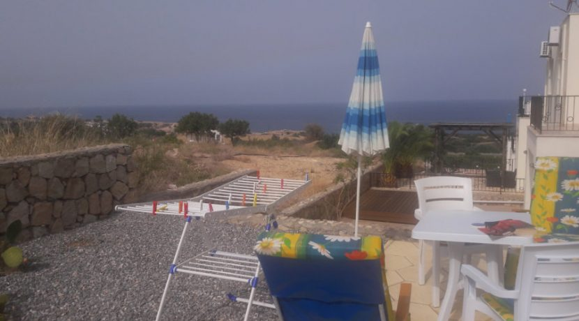 Esentepe Beach Seaview Garden Apartment 1 Bed - North Cyprus Property 5