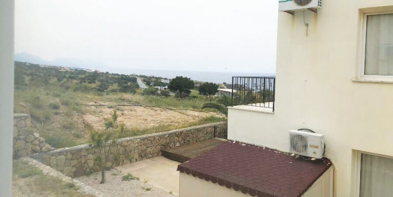 Esentepe Beach Seaview Garden Apartment 1 Bed - North Cyprus Property A2