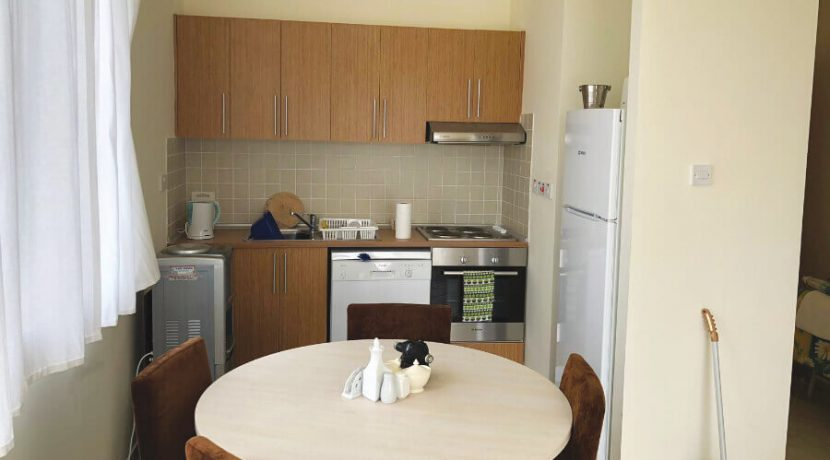 Esentepe Beach Seaview Garden Apartment 1 Bed - North Cyprus Property A3
