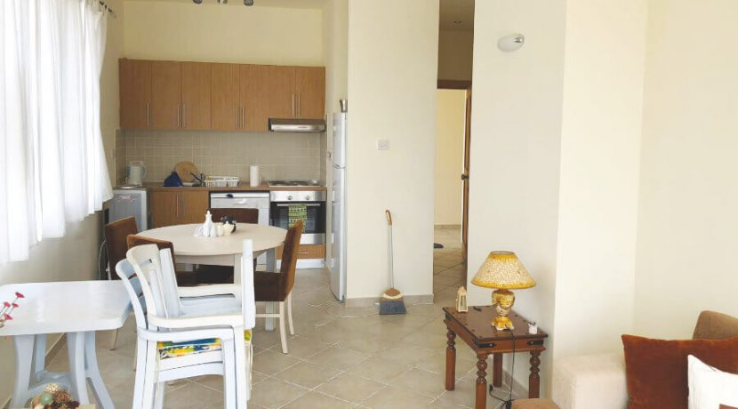 Esentepe Beach Seaview Garden Apartment 1 Bed - North Cyprus Property A4