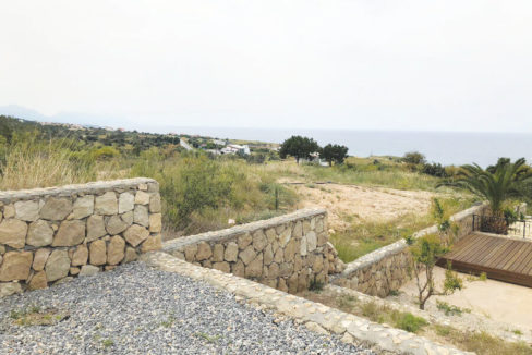 Esentepe Beach Seaview Garden Apartment 1 Bed - North Cyprus Property A6