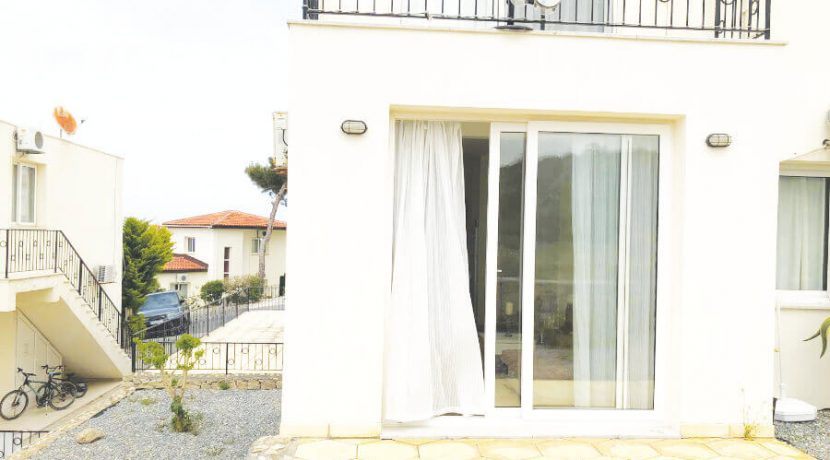Esentepe Beach Seaview Garden Apartment 1 Bed - North Cyprus Property A8