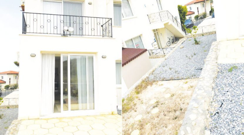 Esentepe Beach Seaview Garden Apartment 1 Bed - North Cyprus Property A9