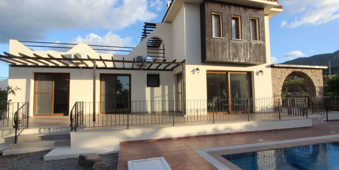Seaview Canyon Villa 3 Bed - North Cyprus Property X1