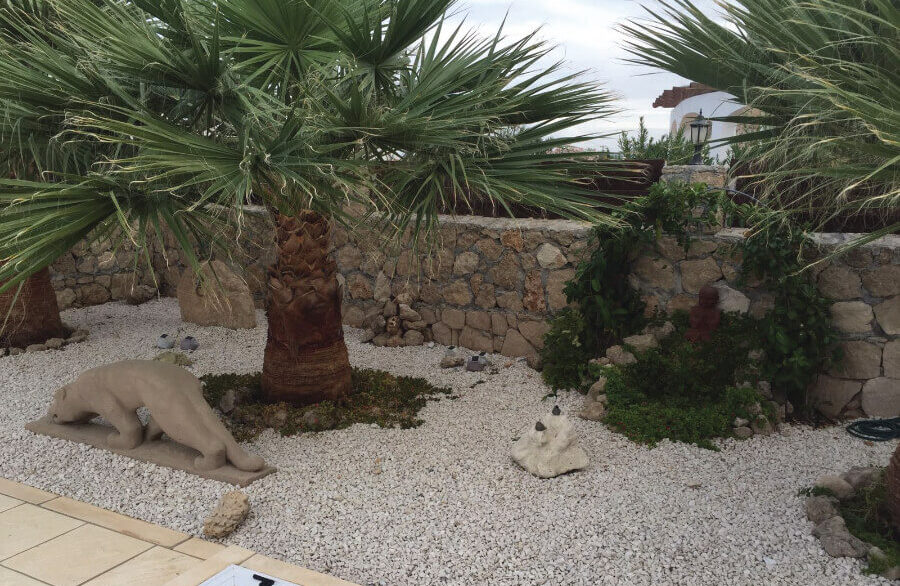 Elegant Seafront Palms Villa in Bahceli 3 Bed - North Cyprus Property 4