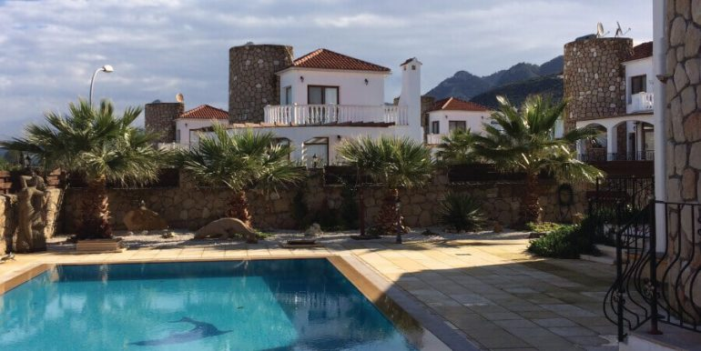 Elegant Seafront Palms Villa in Bahceli 3 Bed - North Cyprus Property A3