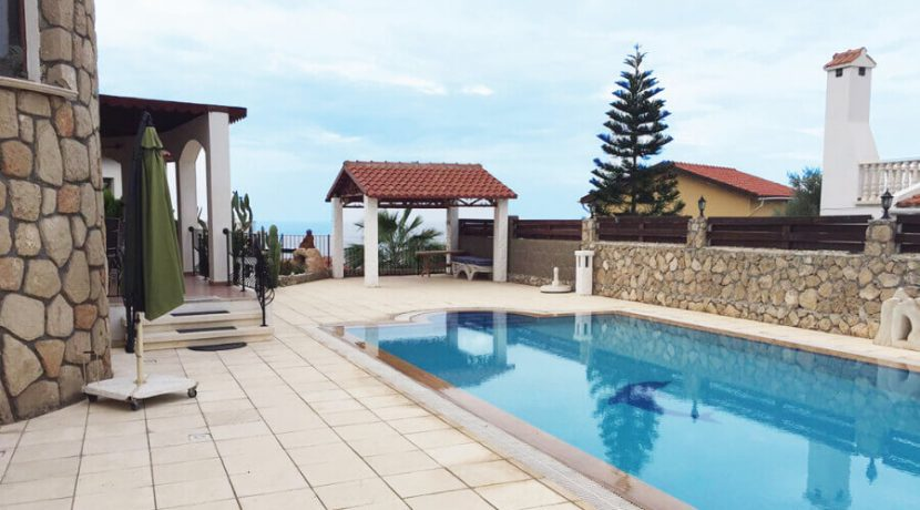 Elegant Seafront Palms Villa in Bahceli 3 Bed - North Cyprus Property A4