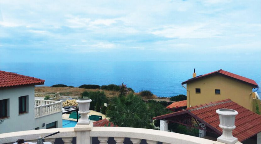 Elegant Seafront Palms Villa in Bahceli 3 Bed - North Cyprus Property A5