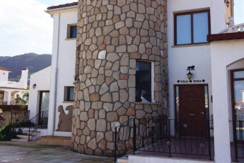 Elegant Seafront Palms Villa in Bahceli 3 Bed - North Cyprus Property A6