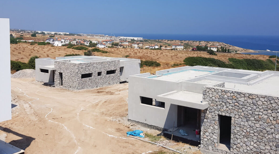 Unique Ultra-Modern Seafront Villa 3 Bed - North Cyprus Property X1