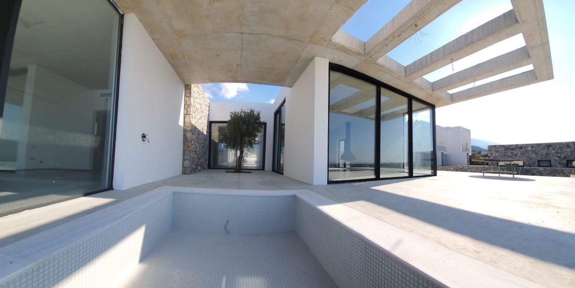 Unique Ultra-Modern Seafront Villa 3 Bed - North Cyprus Property Z1