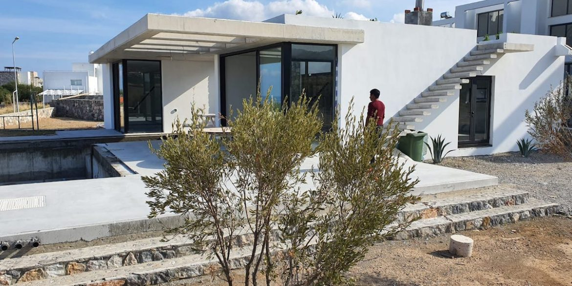 Unique Ultra-Modern Seafront Villa 3 Bed - North Cyprus Property Z5