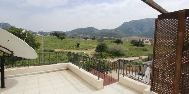 Arapkoy Seaview Mountain Villa 4 Bed - North Cyprus Property 19