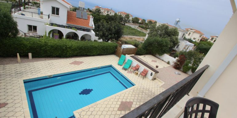 Arapkoy Seaview Mountain Villa 4 Bed - North Cyprus Property 24