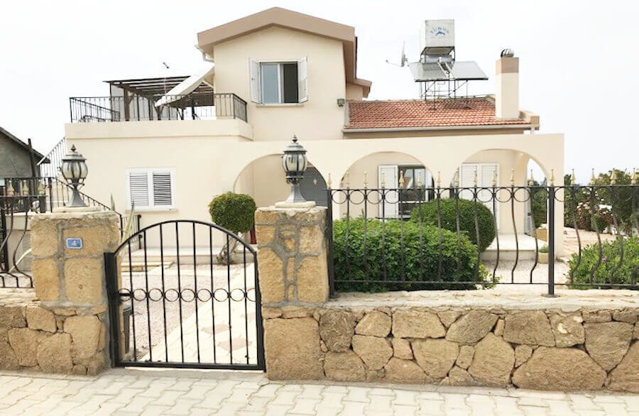 Arapkoy Seaview Mountain Villa 4 Bed - North Cyprus Property A1