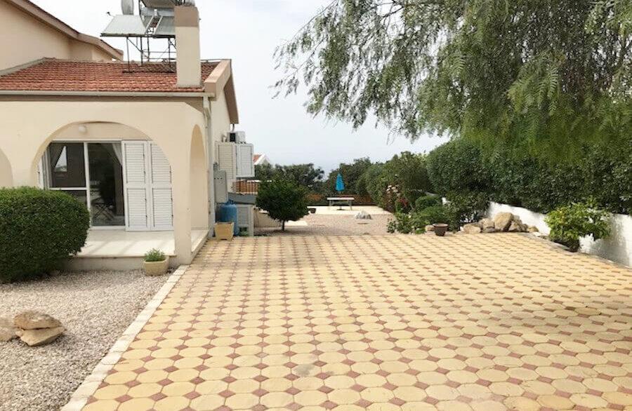 Arapkoy Seaview Mountain Villa 4 Bed - North Cyprus Property A2