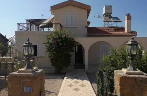 Arapkoy Seaview Mountain Villa 4 Bed - North Cyprus Property B1