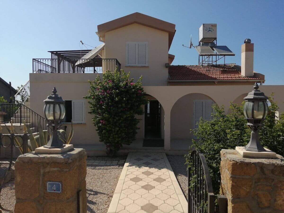 Arapkoy Seaview Mountain Villa 3 Bed