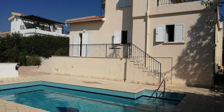 Arapkoy Seaview Mountain Villa 4 Bed - North Cyprus Property B2