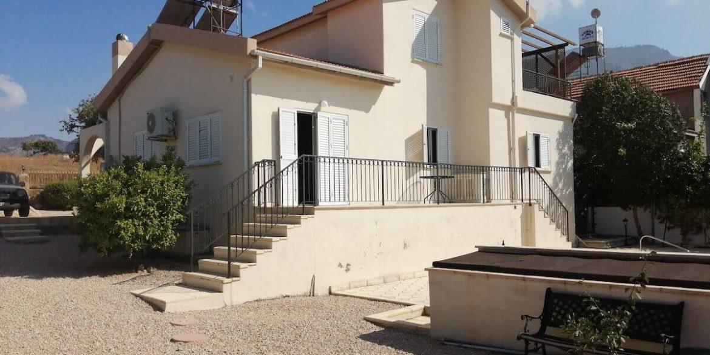 Arapkoy Seaview Mountain Villa 4 Bed - North Cyprus Property B4