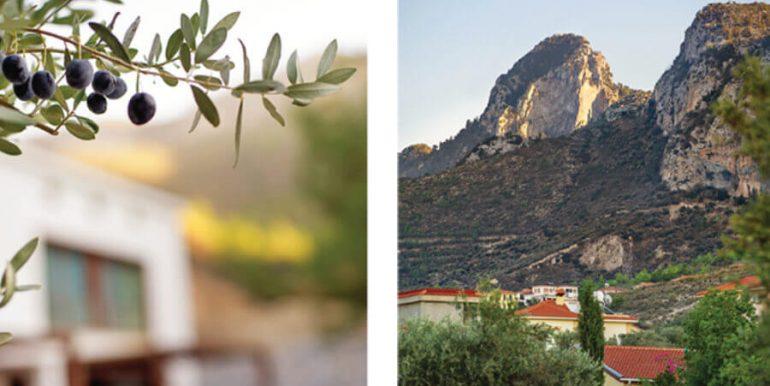 Bellapais Luxury Mountain Villa 3 Bed North Cyprus Property 33