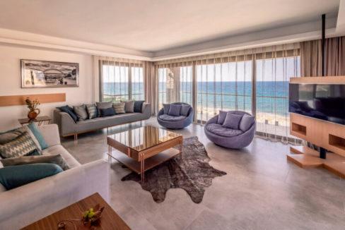 Karsiyaka Beachfront Ultra Modern 5 Bed Villa - North Cyprus Property 1