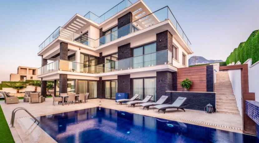 Karsiyaka Beachfront Ultra Modern 5 Bed Villa - North Cyprus Property 11