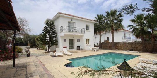 Central Kyrenia Mediterranean Villa 3 Bed
