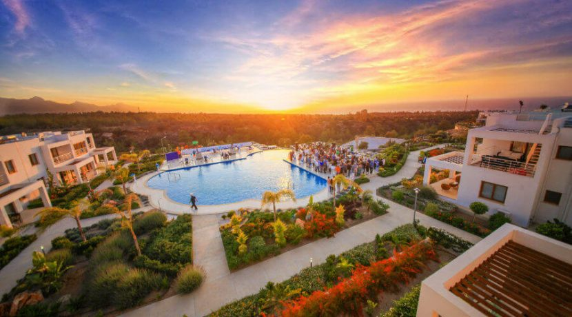 Esentepe Golf and Beach Luxury Apartments Facilities - North Cyprus Property 1