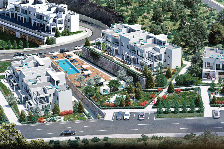 Esentepe Golf And Beach Luxury Penthouse 2 Bed
