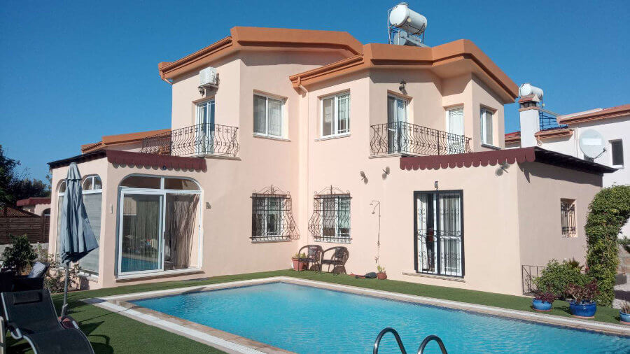 Karsiyaka Mountain View Villa 3 Bed