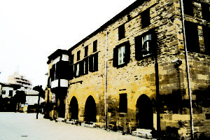Lefkosa Old Building - Capital City of North Cyprus