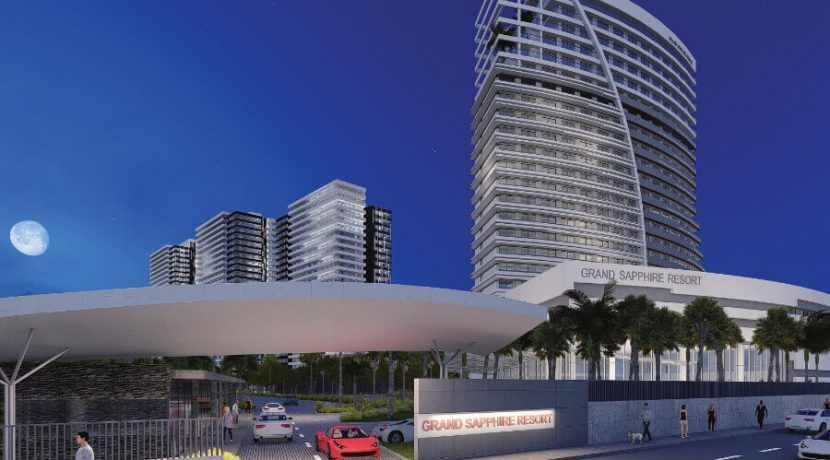 Long Beach Grand Sapphire Resort External - North Cyprus Property 11
