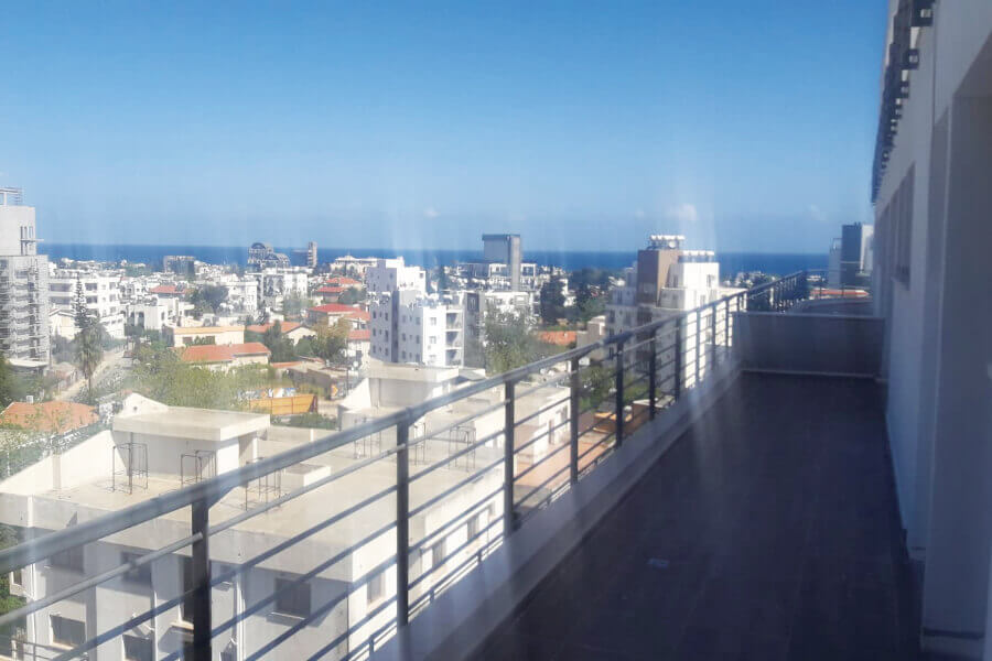 The V Kyrenia 3 Bed Panorama Serviced Apartment (6th Floor South Facing)