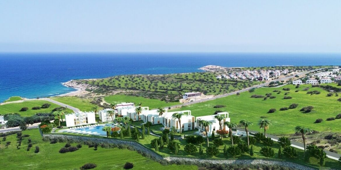 Esentepe Beach Apartments Elevations - North Cyprus Property A1