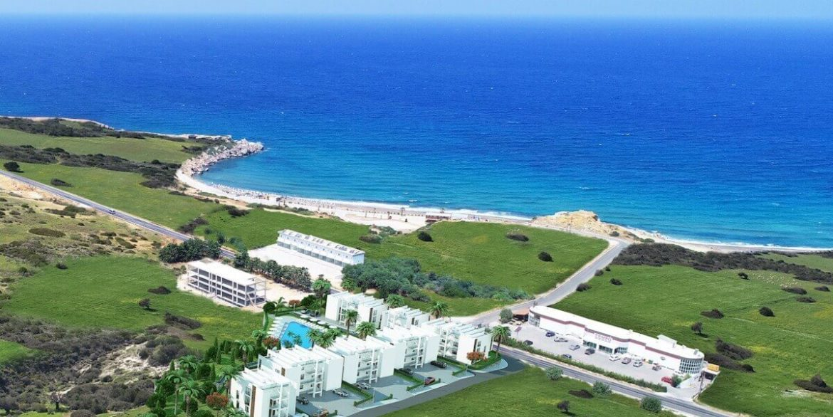 Esentepe Beach Apartments Elevations - North Cyprus Property A4