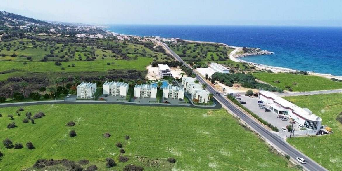 Esentepe Beach Apartments Elevations - North Cyprus Property A5