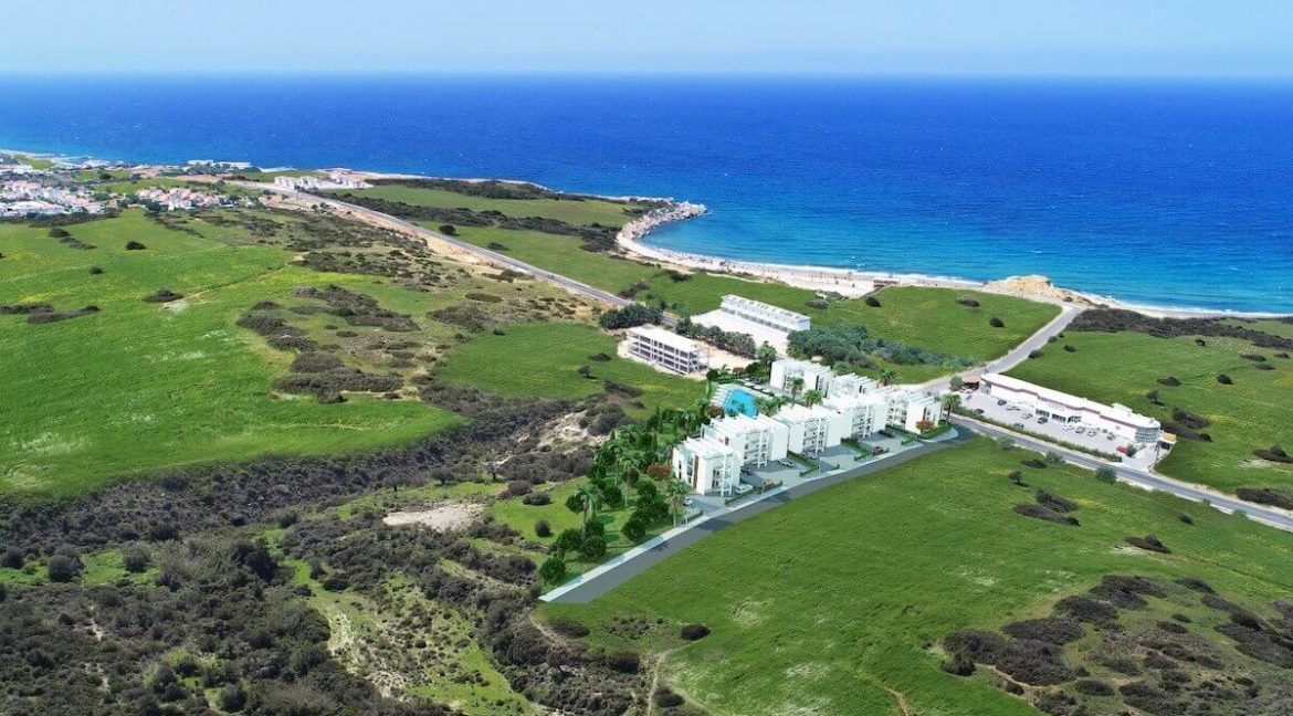Esentepe Beach Apartments Elevations - North Cyprus Property A6