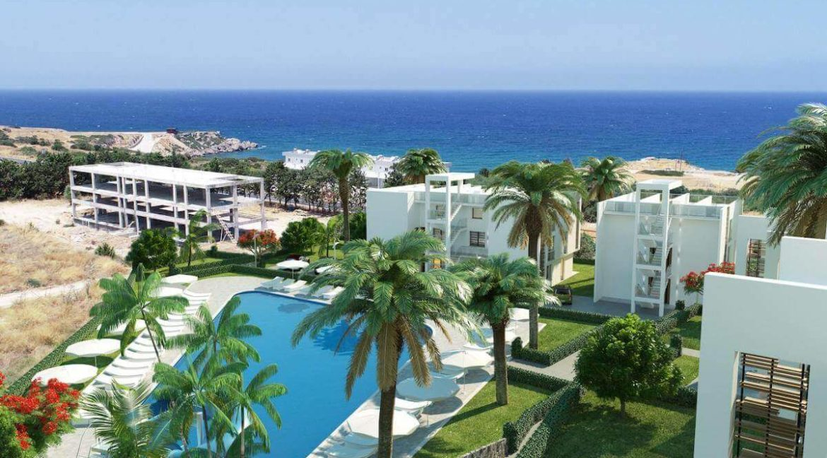 Esentepe Beach Apartments Elevations - North Cyprus Property E4