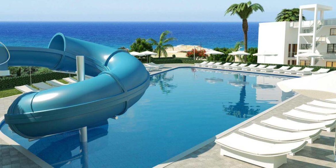Esentepe Beach Apartments Elevations - North Cyprus Property E5