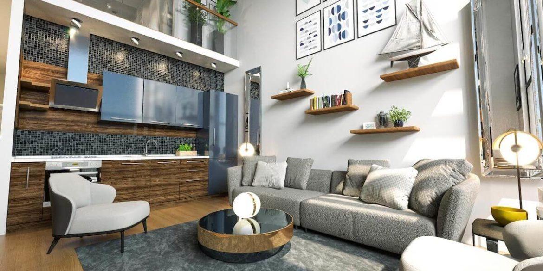 Esentepe Beach Apartments Elevations - North Cyprus Property I1
