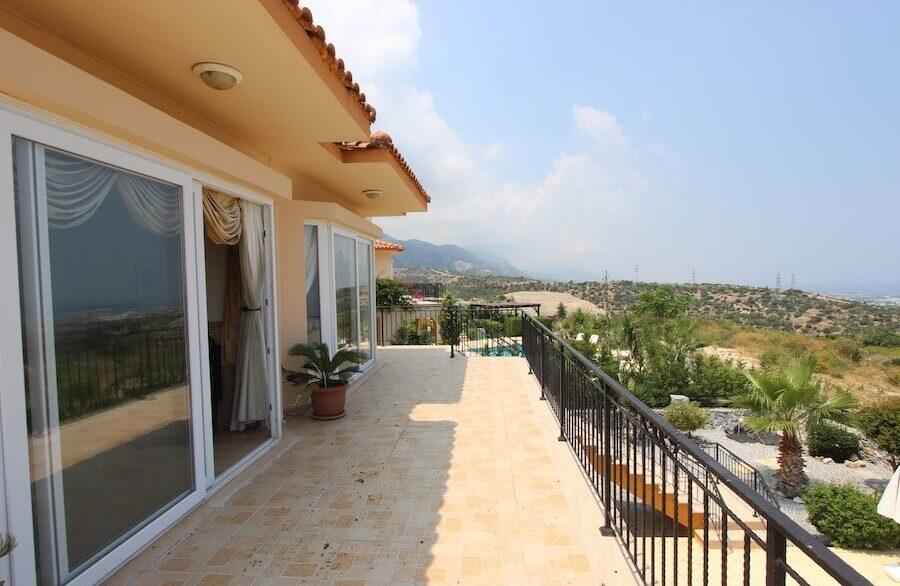 Arapkoy Panoramic Seaview Villa 3 Bed - North Cyprus Property 10