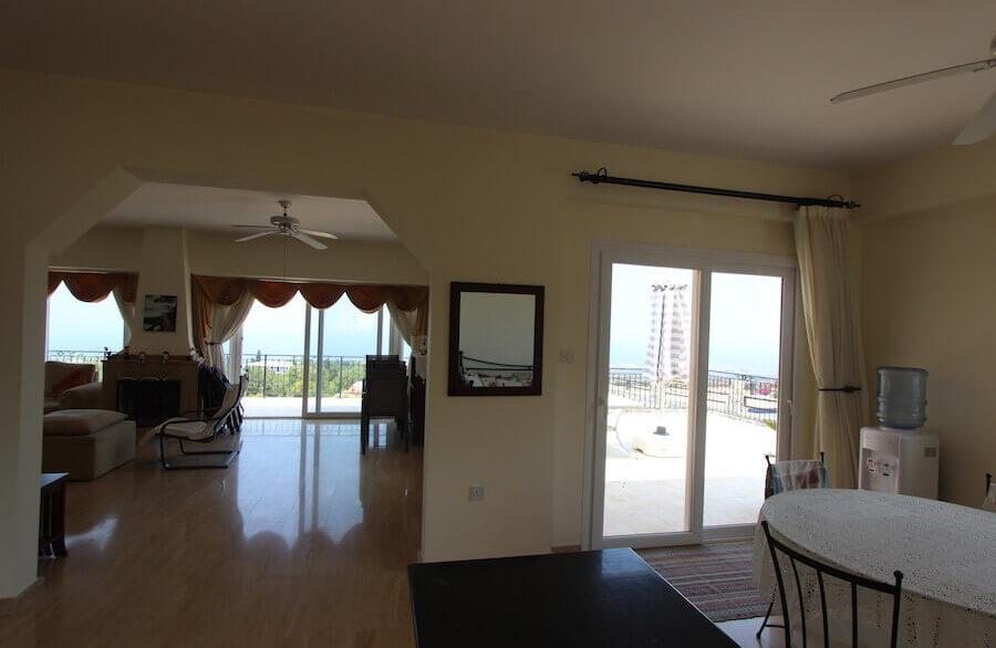 Arapkoy Panoramic Seaview Villa 3 Bed - North Cyprus Property 13