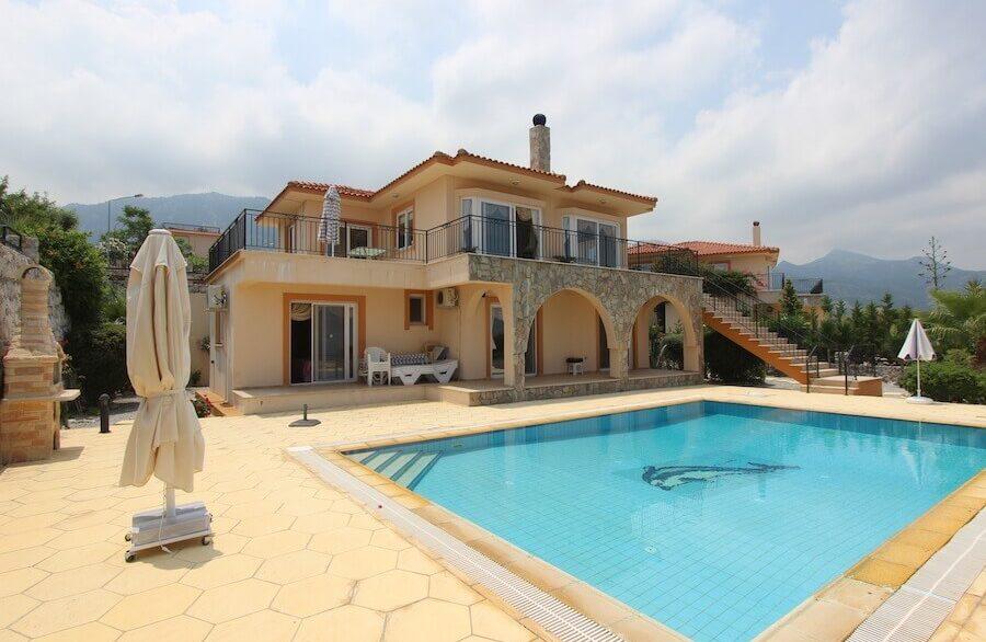 Arapkoy Panoramic Seaview Villa 3 Bed - North Cyprus Property 25