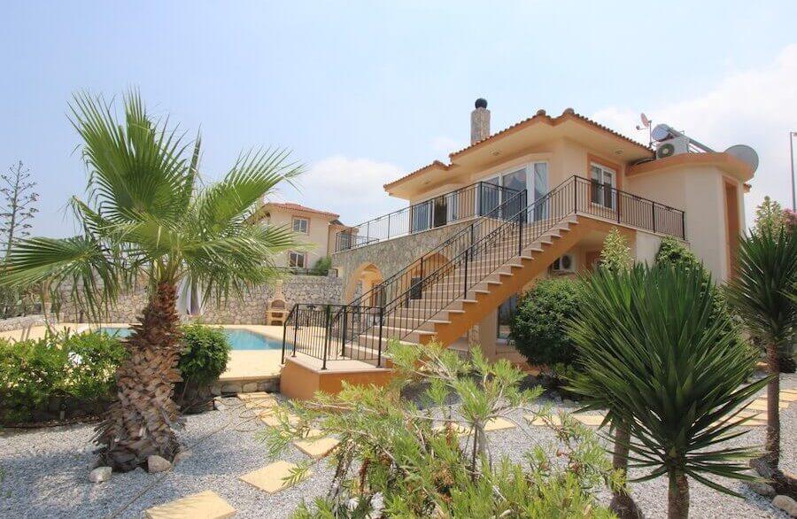 Arapkoy Panoramic Seaview Villa 3 Bed - North Cyprus Property 27