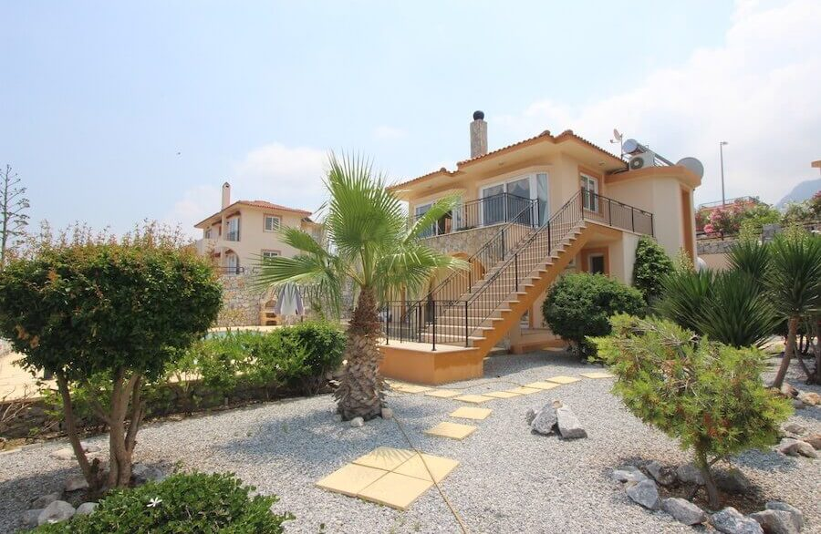 Arapkoy Panoramic Seaview Villa 3 Bed - North Cyprus Property 28