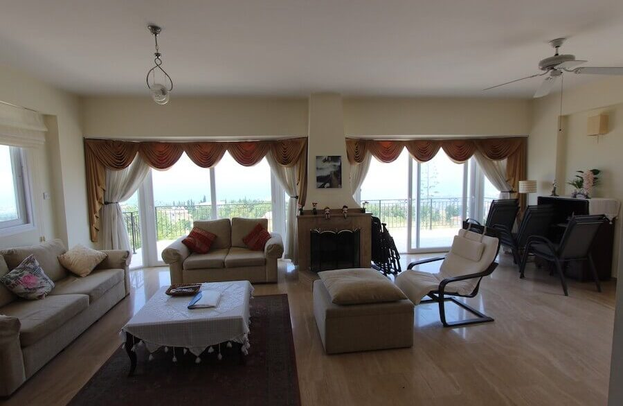Arapkoy Panoramic Seaview Villa 3 Bed - North Cyprus Property 3